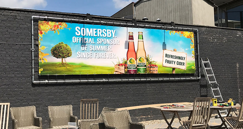 banner + frame somersby