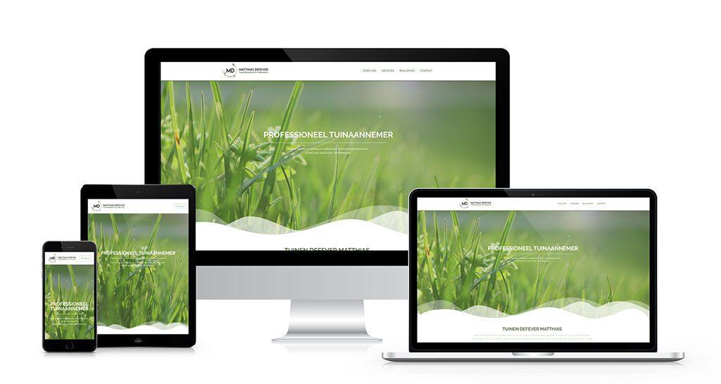 website tuinen defever matthias