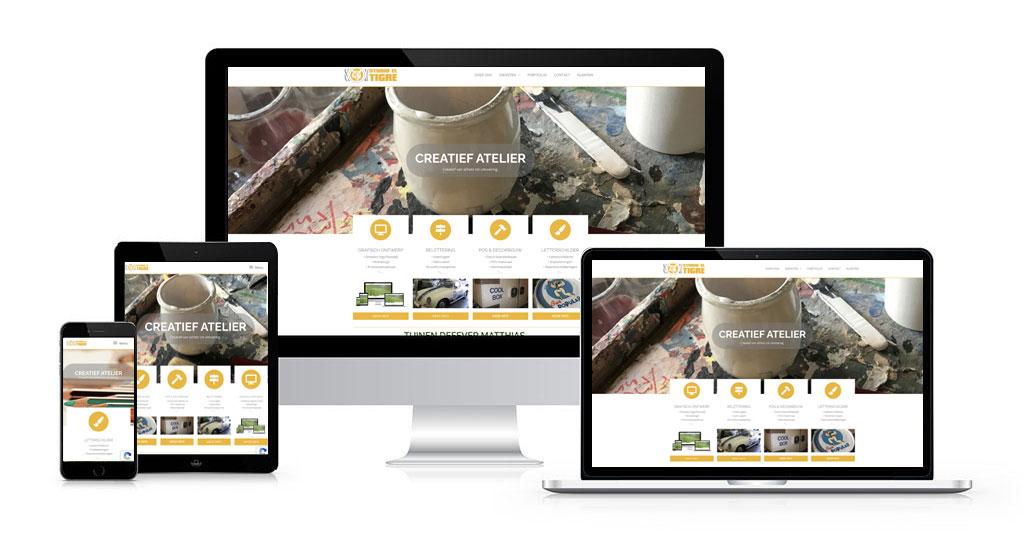 website studio el tigre