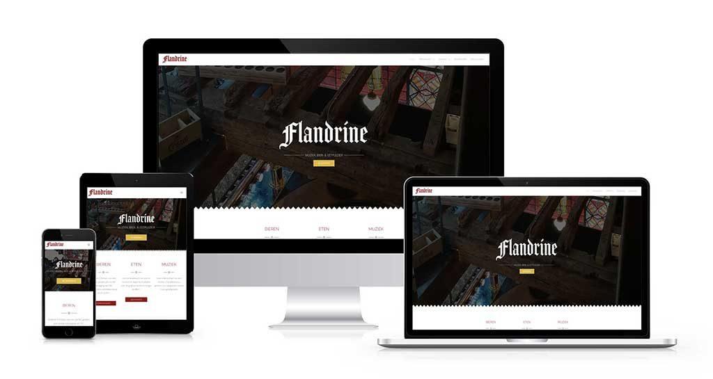 website flandrine